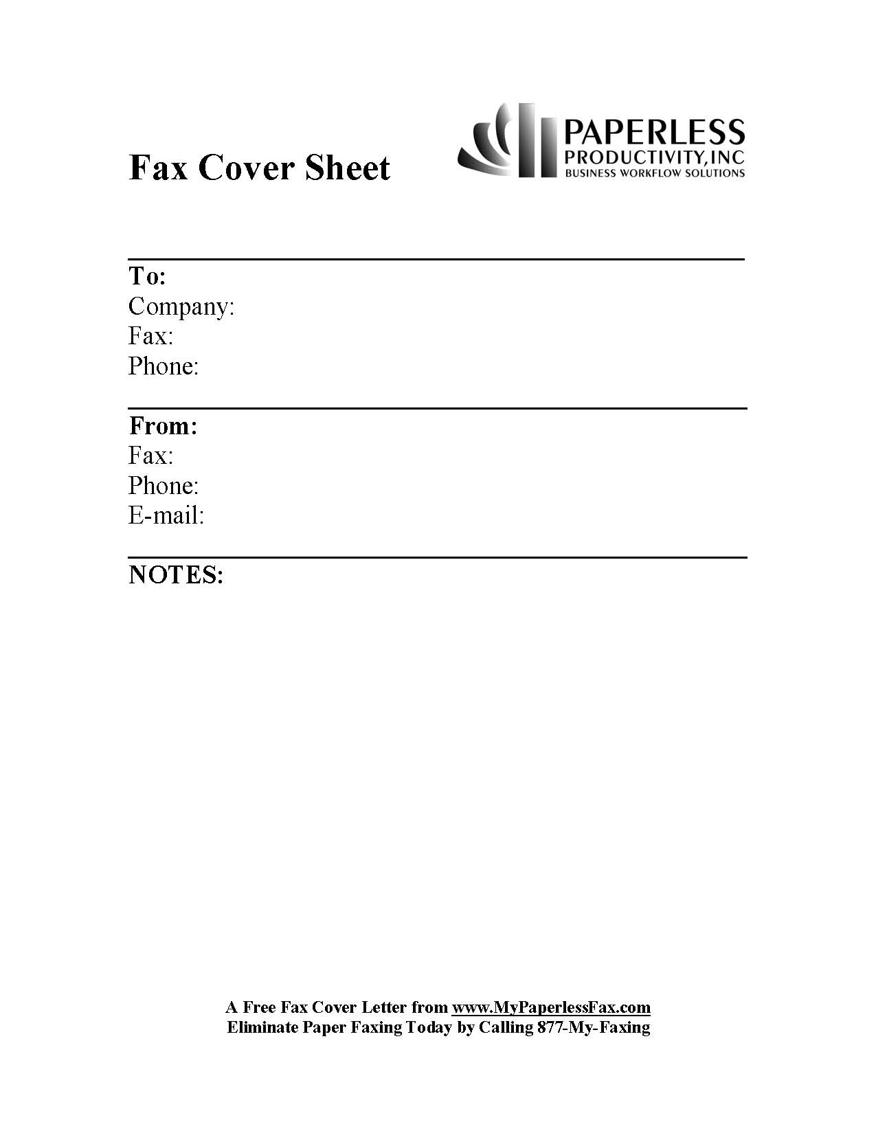 Sample fax cover letter template spiritdancerdesigns Images